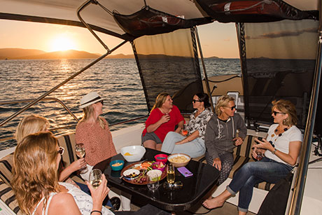 Enjoy Some You-Time. Dining onboard Salty.